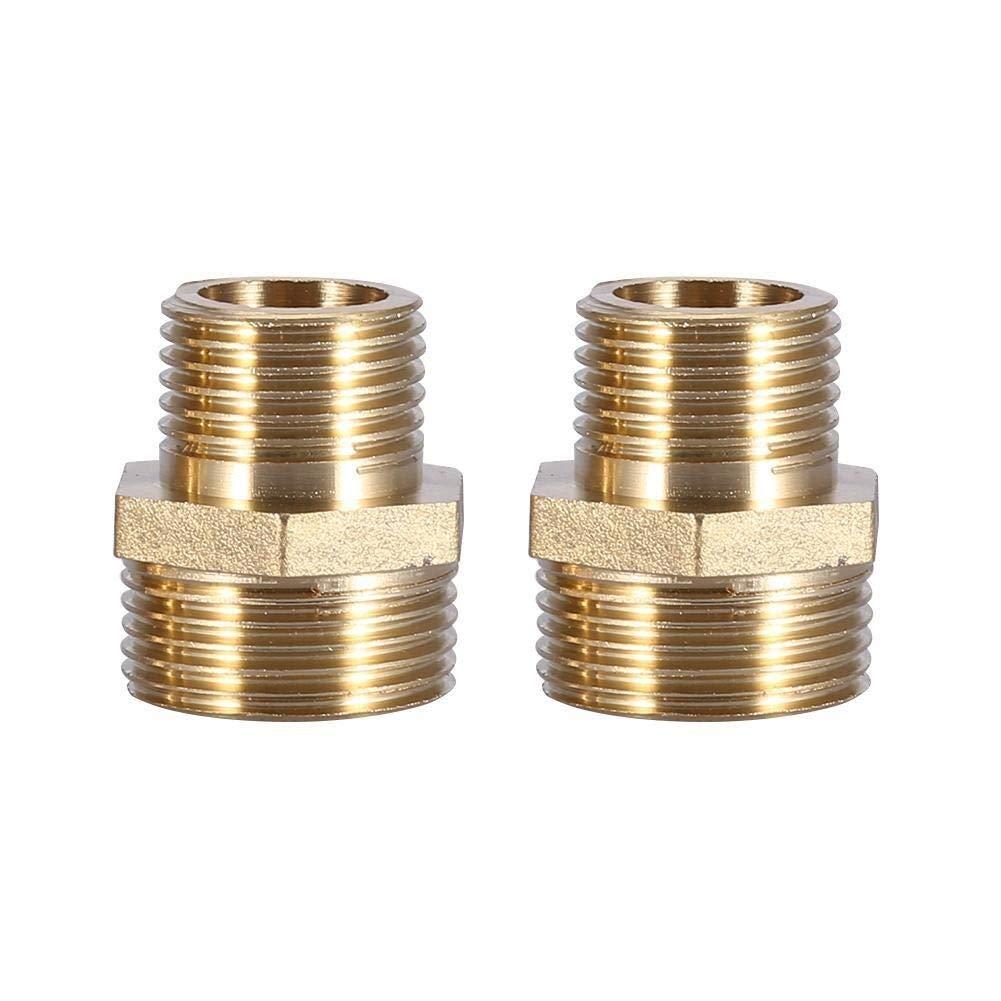 Maxmartt Brass Fitting Hex Nipple Reducing Male Pipe 3/4