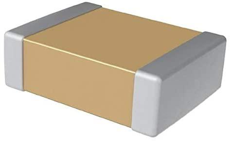 Multilayer Ceramic Capacitors MLCC - SMD/SMT 16V 1uF X7R 1206 5% - Pack of 100 (C1206C105J4RACTU)