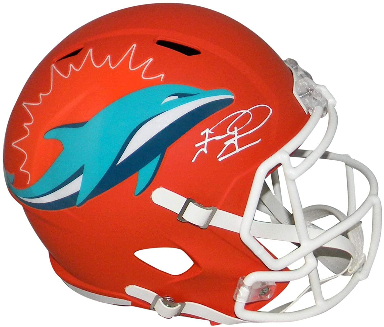 Tua Tagovailoa Autographed Miami Dolphins Amp Full Size Speed Helmet Fanatics - Autographed NFL Helmets