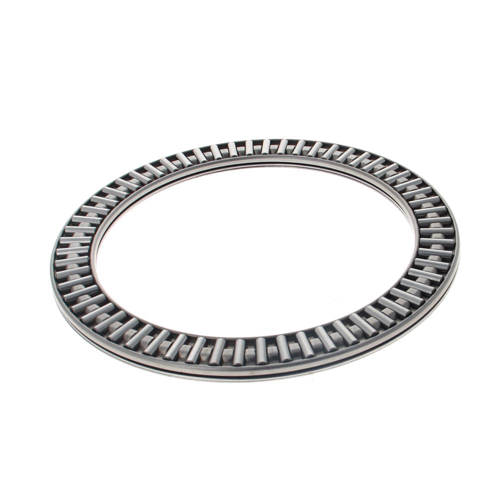 Othmro AXK120155 2AS Needle Roller Thrust Bearings with 2 Washers, 120mm Inner Diameter, 155mm OD, 6mm of Thickness, GCr15 Hardness 1pcs