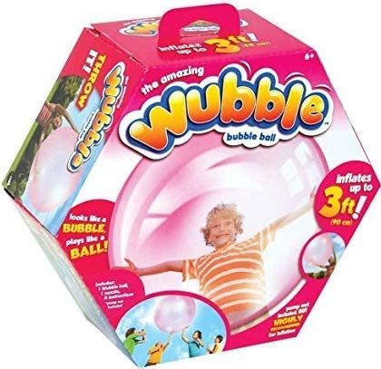 The Amazing WUBBLE BUBBLE Ball ~ PINK ~ NO PUMP by NSI