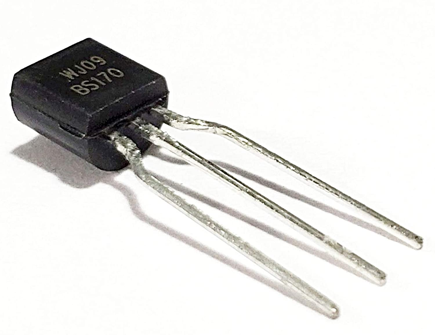 Juried Engineering ON Semiconductor BS170 Small Signal MOSFET 500 mA, 60 Volts N-Channel Enhancement Mode Field Effect Transistor to−92 (to−226) (Pack of 25)