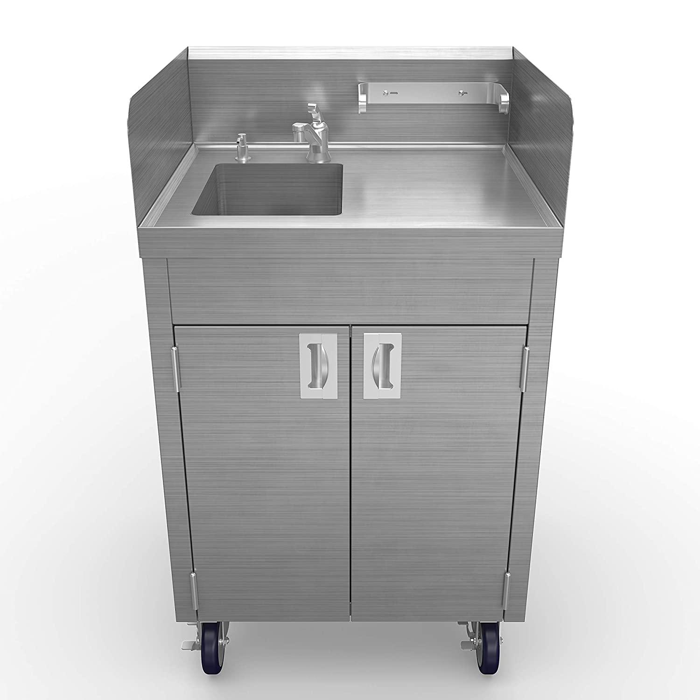 Winholt STCT-BHD2436PUMP Mobile Hand Sink