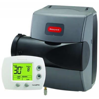Honeywell TrueEASE Humidifier with HumidiPRO controller - Color - HE200A1000/U HE200-c2