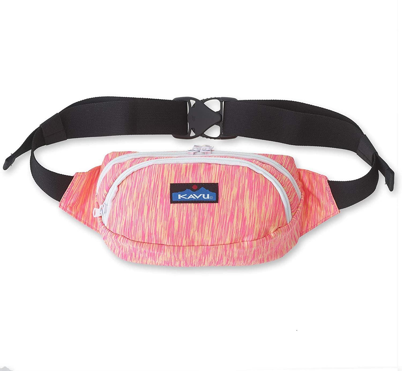 KAVU Spectercise Belt Bag Spandex Fanny Pack