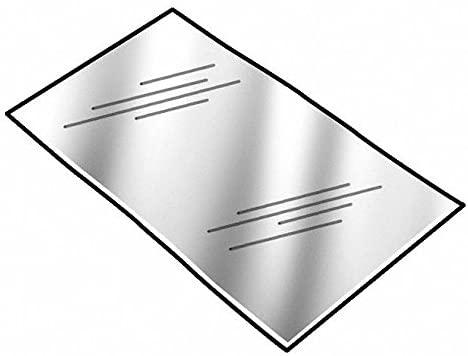 Brass Shim Stock Sheet, 260 Grade, 0.0120