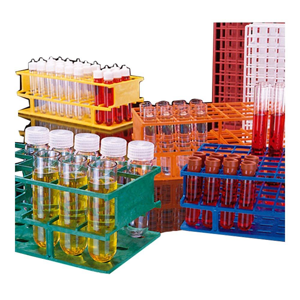 Nalgene 5970-0330 Acetal Plastic Unwire Test Tube Rack for 30mm Test Tubes, Blue