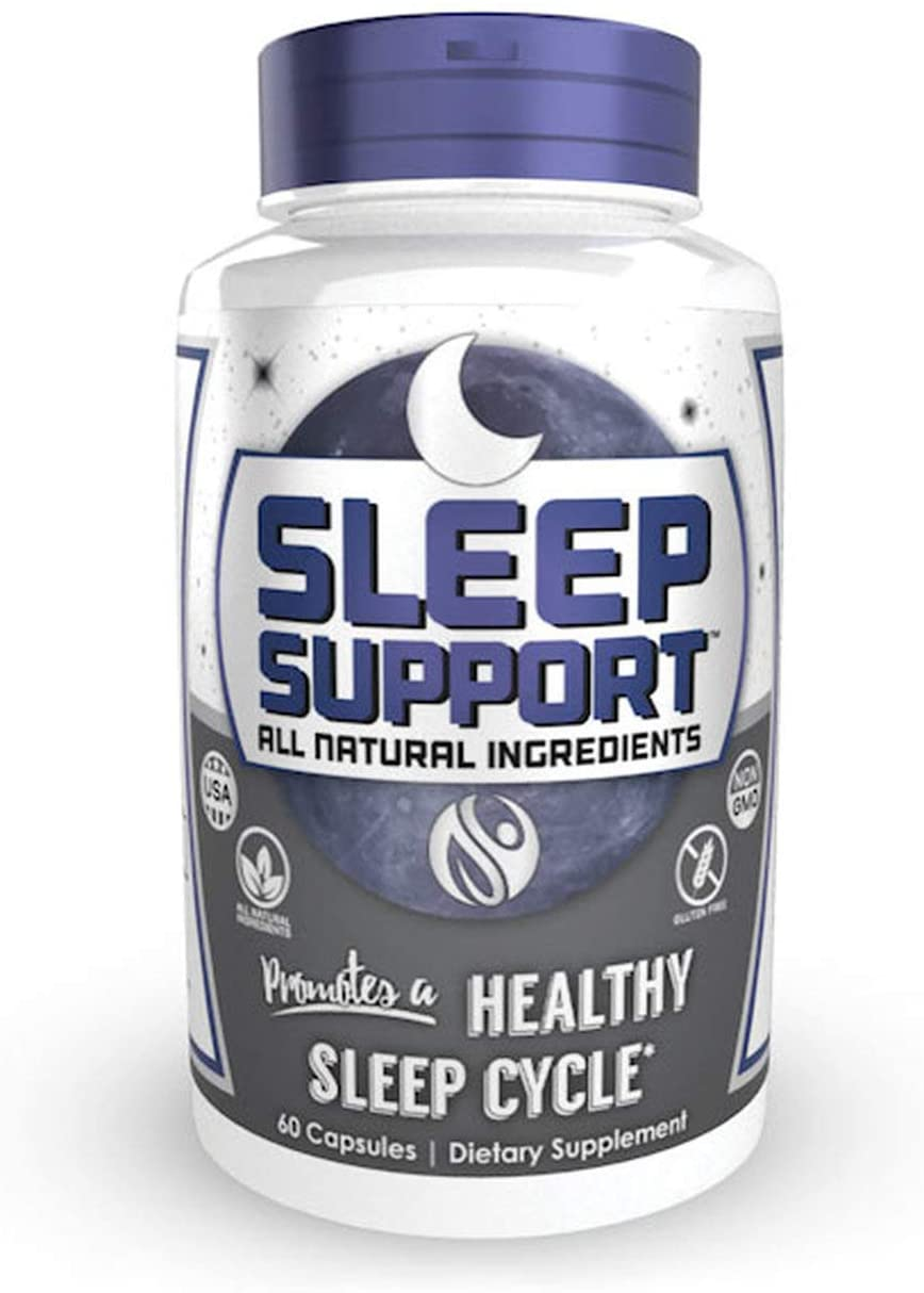 Sleep Support Capsules | 60 Count | 30 Servings | All Natural Sleep Aid