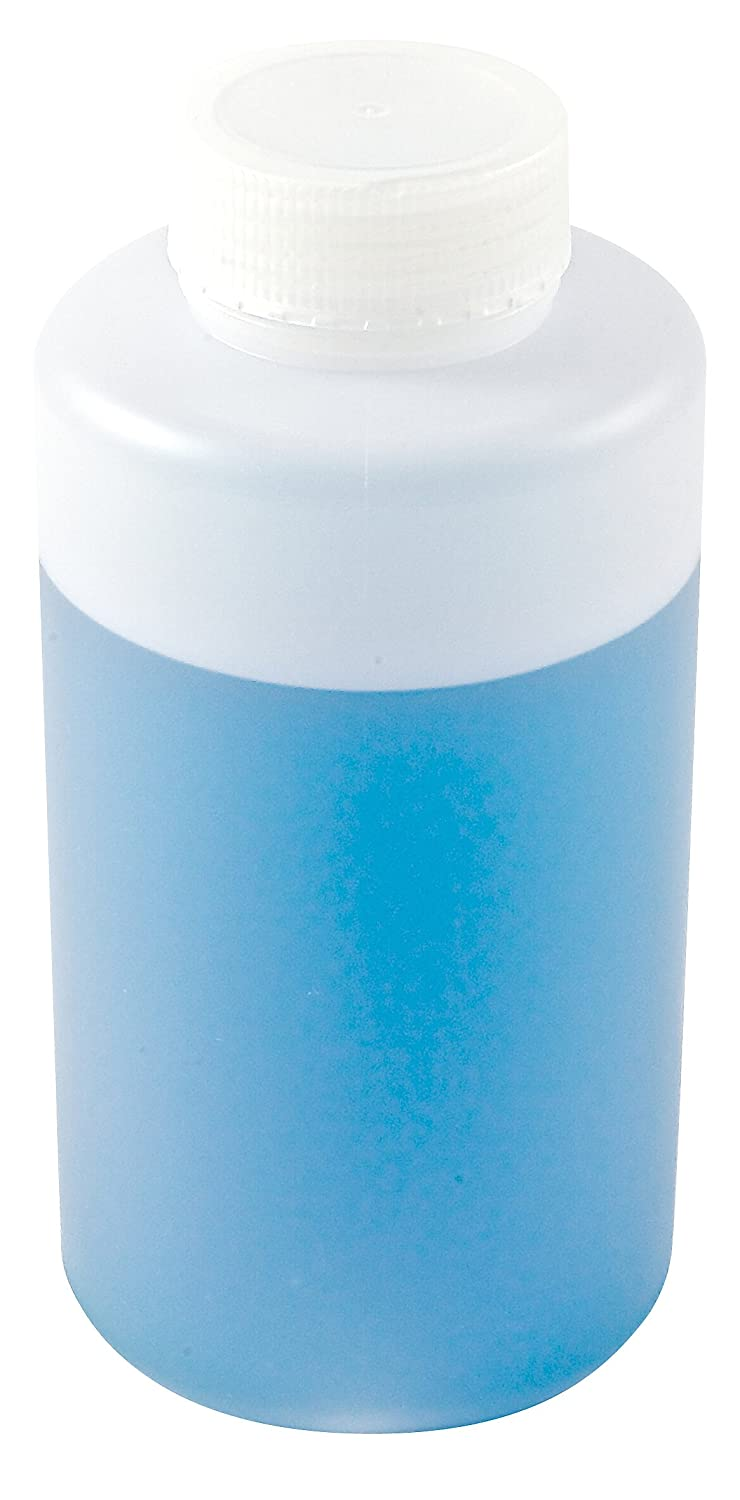 Dynalon 301605-0064 2000mL / 64oz, Plastic (HDPE) Wide Mouth Lab Sample Bottle (Pack Of 6)