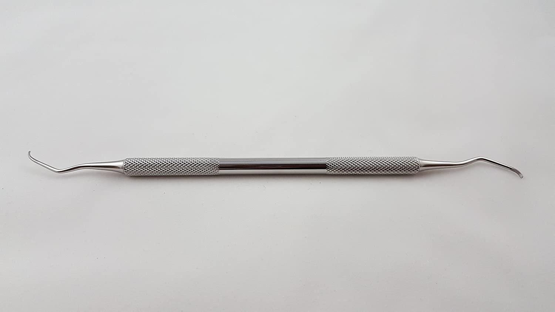 Professional Quality Dental Scaling Instrument, Columbia Curette, 2L/2R