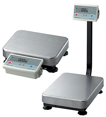 ANDWEIGHING FG-150KBMN FG-K Series Platform Scale, Medium Pan, 300 lb. x 0.1 lb, No Column-NTEP