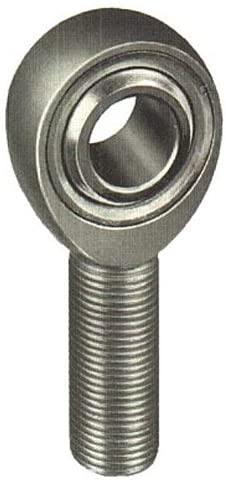 Aurora Bearing Company SM-6Z - Male Threaded Right Hand Spherical Rod End - Grade: Precision, Bore Diameter: 0.3750 in, Shank Thread Size: 3/8-24, Zerk Fitting