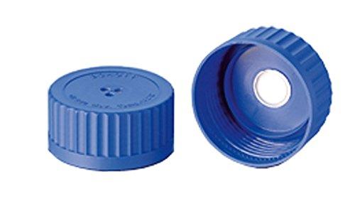 Membrane Screw Cap, PP, Blue, GLS 80