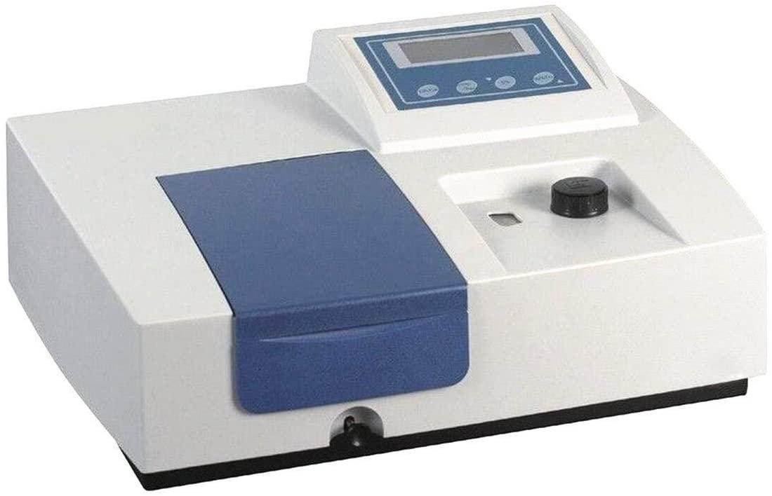 MXBAOHENG 752N UV VIS Spectrophotometer Laboratory Ultraviolet Visible Spectrophotometer Wavelength 200-1000nm (110V)