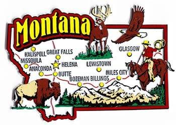 Montana - Magnet