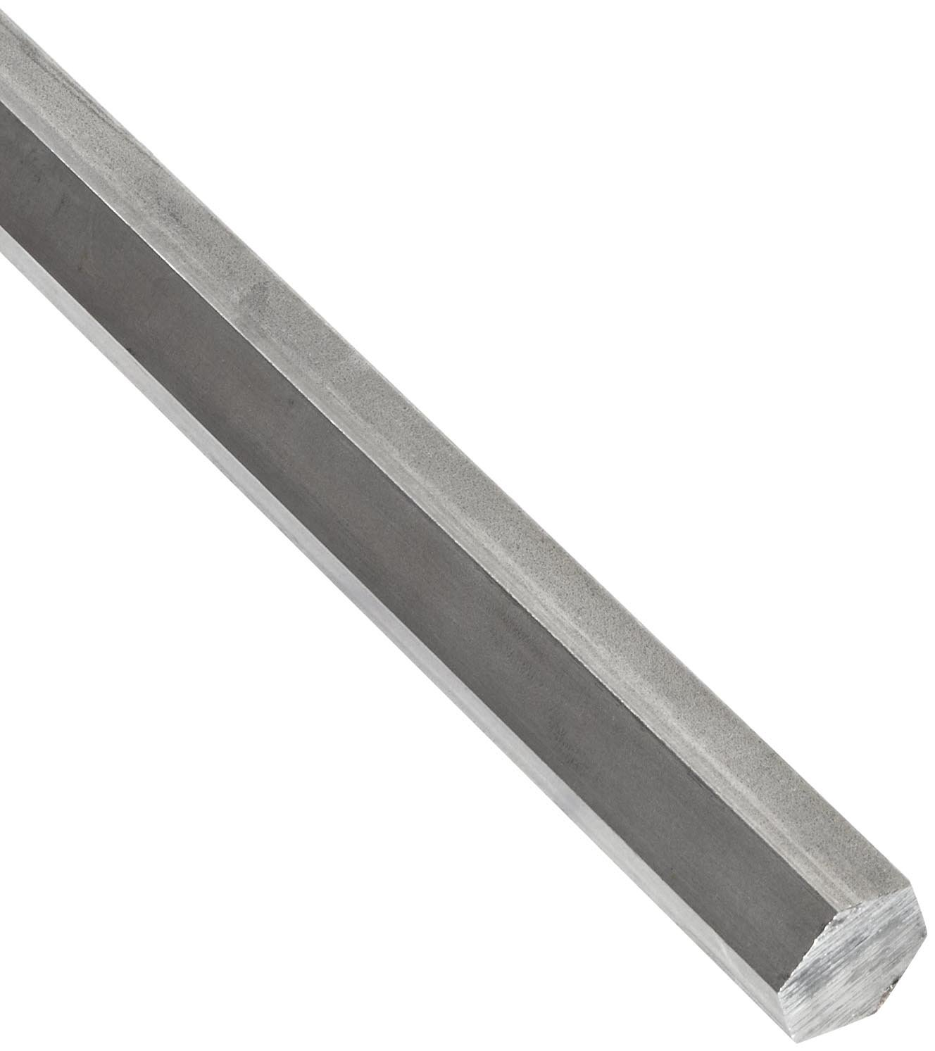 304 Stainless Steel Hex Bar, Unpolished (Mill) Finish, Annealed, 0 (Annealed) Temper, Precision Tolerance, ASTM A276 1