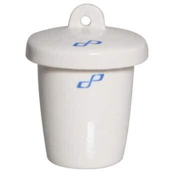 Cole-Parmer Gooch Filter Crucible, Porcelain, 50 mL, 6/pk