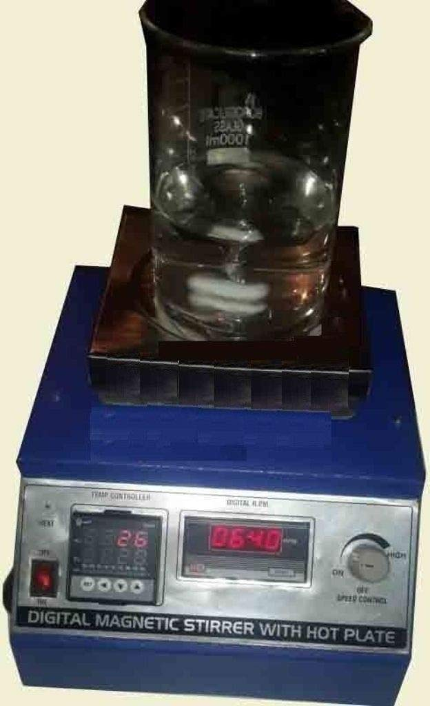 MG Scientific Digital Magnetic Stirrer 002A02