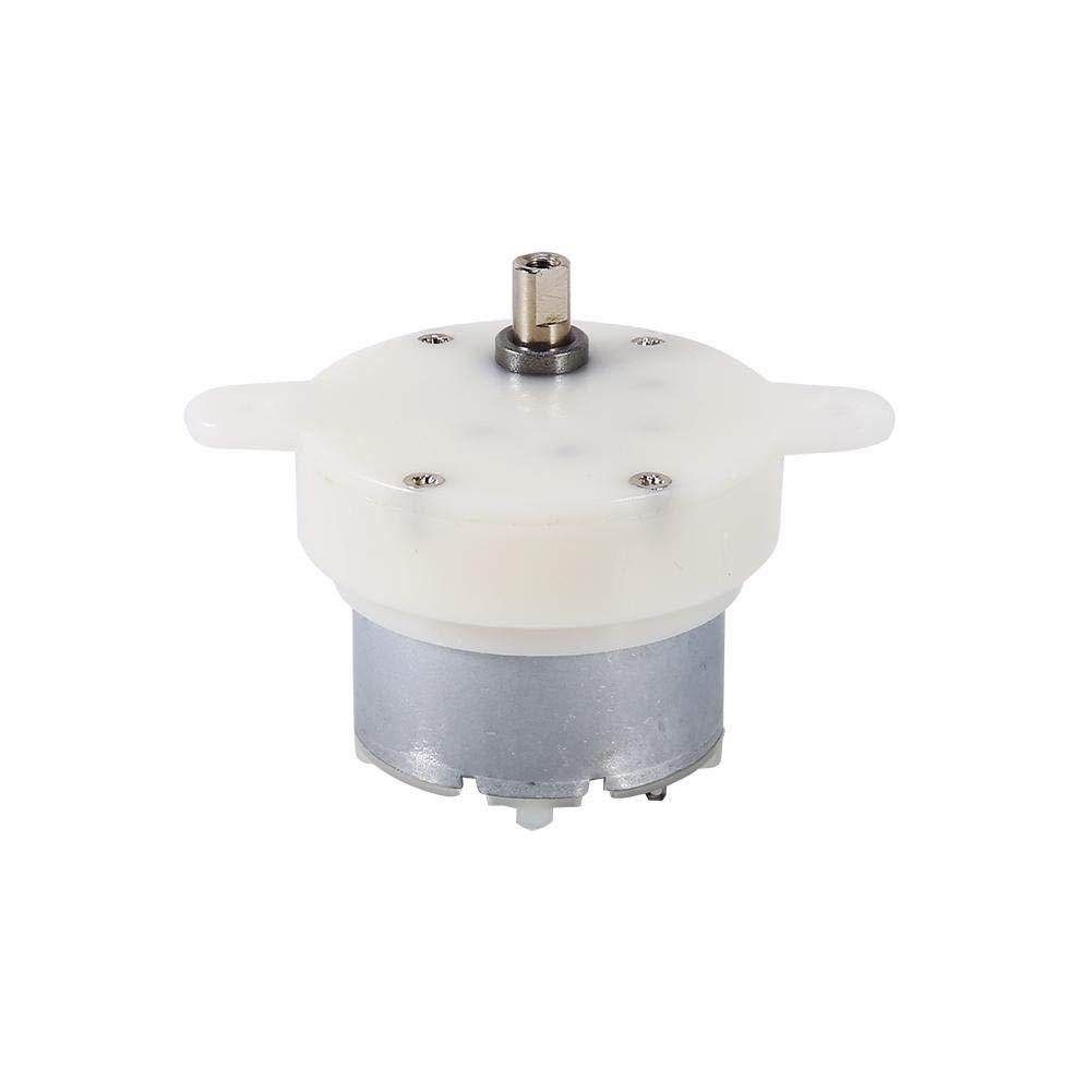 DC 12V Gear Motor High Torque Slow Speed Micro Electric Motor Gearbox 3 RPM 4mm Shaft Diameter