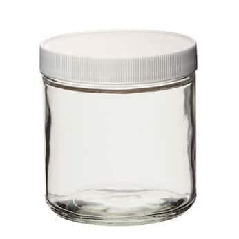 Cole-Parmer Bottle, Clear, Straight-Sided Round, 32 oz, 12/cs