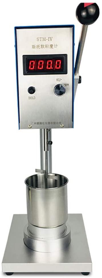 CGOLDENWALL Lab Digital Viscometer Viscosity Meter with Range: 40~141 KU Resolution:0.1 Kreb Unit Accuracy: +-2% FS