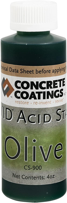 VIVID Acid Stain - 4oz - Olive (Mossy Green)