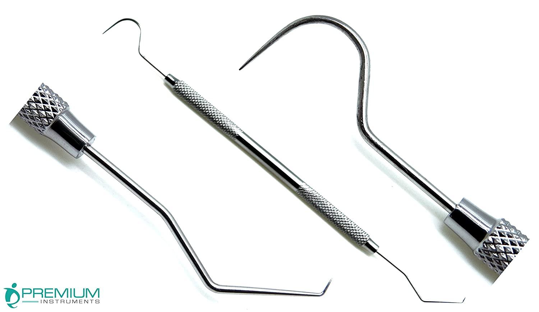 Dental Explorer 23/17a Double Ended Diagnostic Endodontic Examnation Instrument