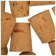 WIDGETCO Size 8 Cork Stoppers, XXXX Grade