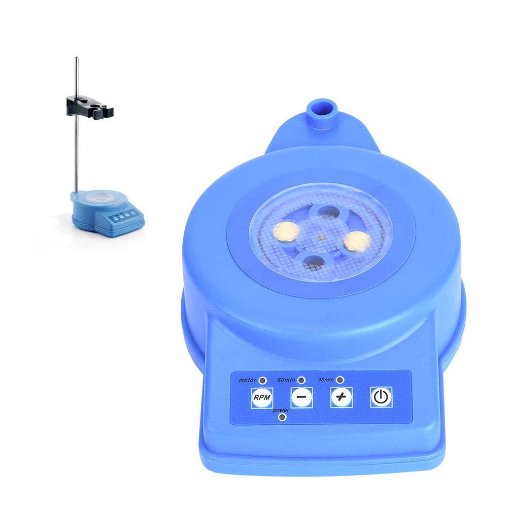 Digital Magnetic Stirrer with Magnetic Stirrer Rotor Lab Stirrer/Stir Plate 0-2300rpm/min, Max Stirring Capacity: 1000ml((US Adaptor 110V))