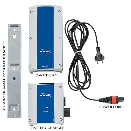 invacare 1079815 Reliant Lift Battery Charger Kit with Wall Mount and Power Cord