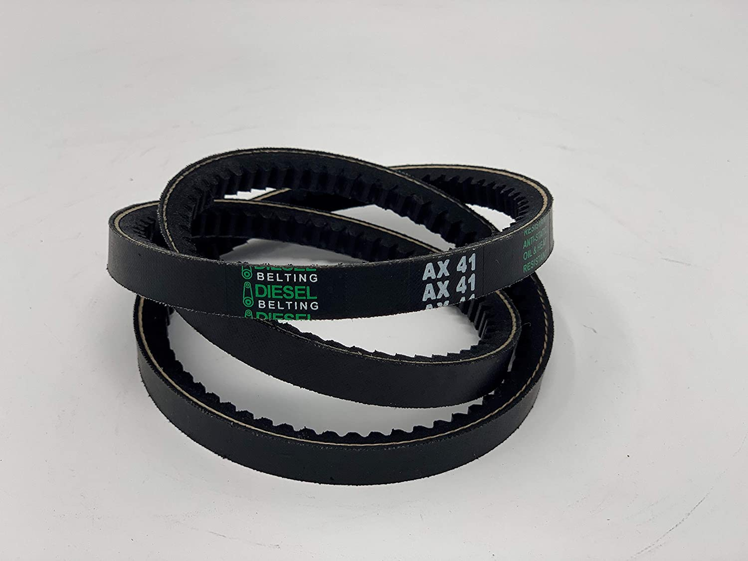 AX41 Classic Cogged V-Belt 1/2 x 43in Outside Circumference