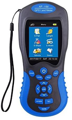 MeterToLand Measuring Instrument NF-188,Detectrange:0-999999.9meter,2.8 inch 320 x 240 large color screen