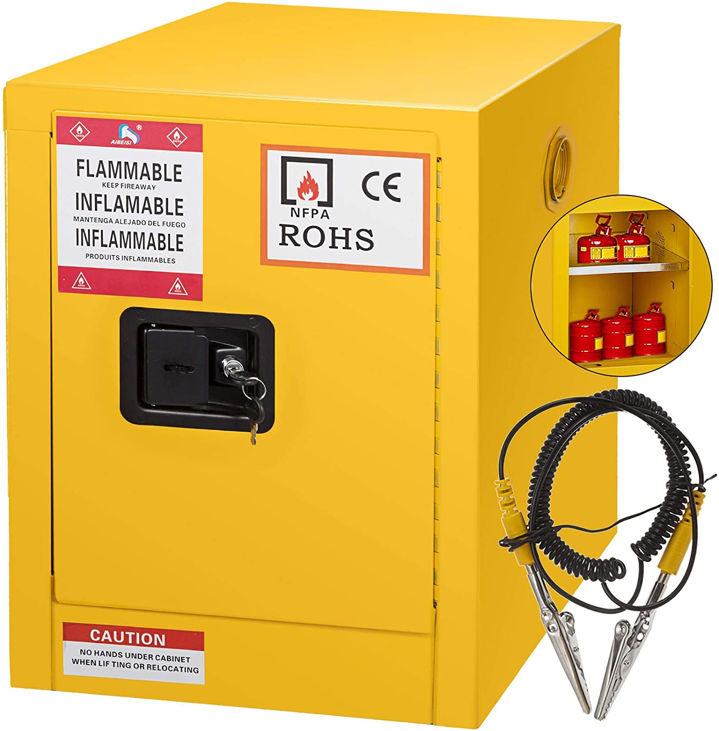 Mophorn Flammable Cabinet 18