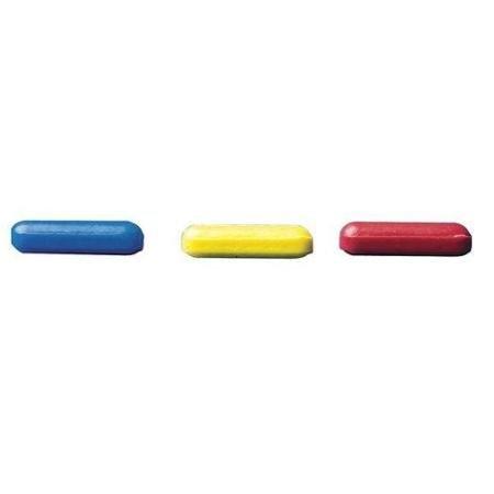 Bel-Art Spinbar Teflon Micro (Flea) Magnetic Stirring Bar, 10 x 3mm size, Yellow (371210023)