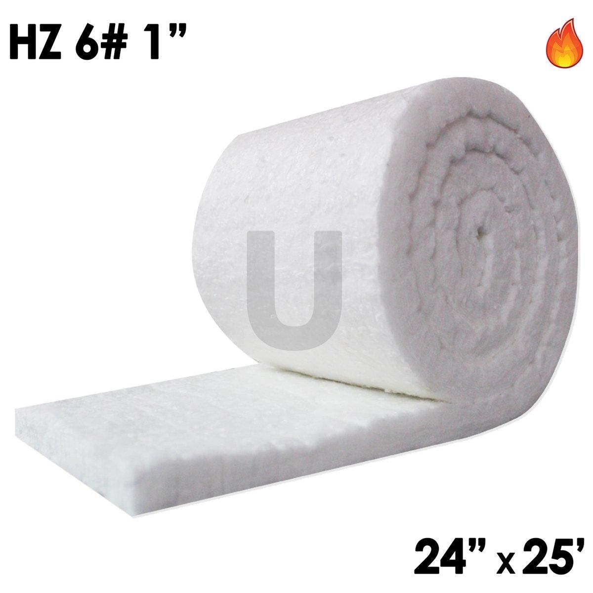 UniTherm Ceramic Fiber Blanket, HZ, 6lb, 1