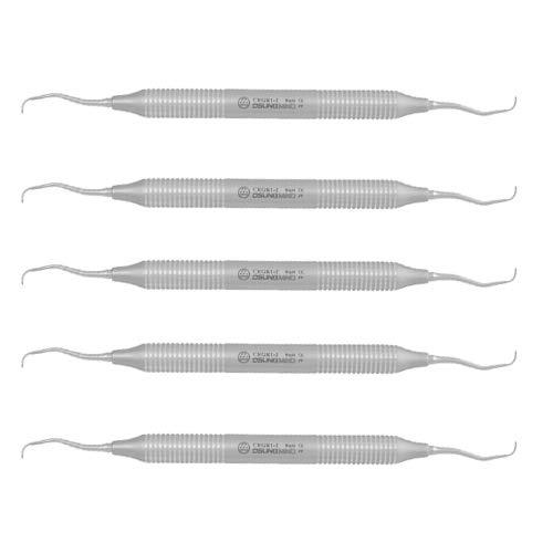 OSUNG Dental Standard Rigid Gracey Curette, CRGR1-2, 5 pcs