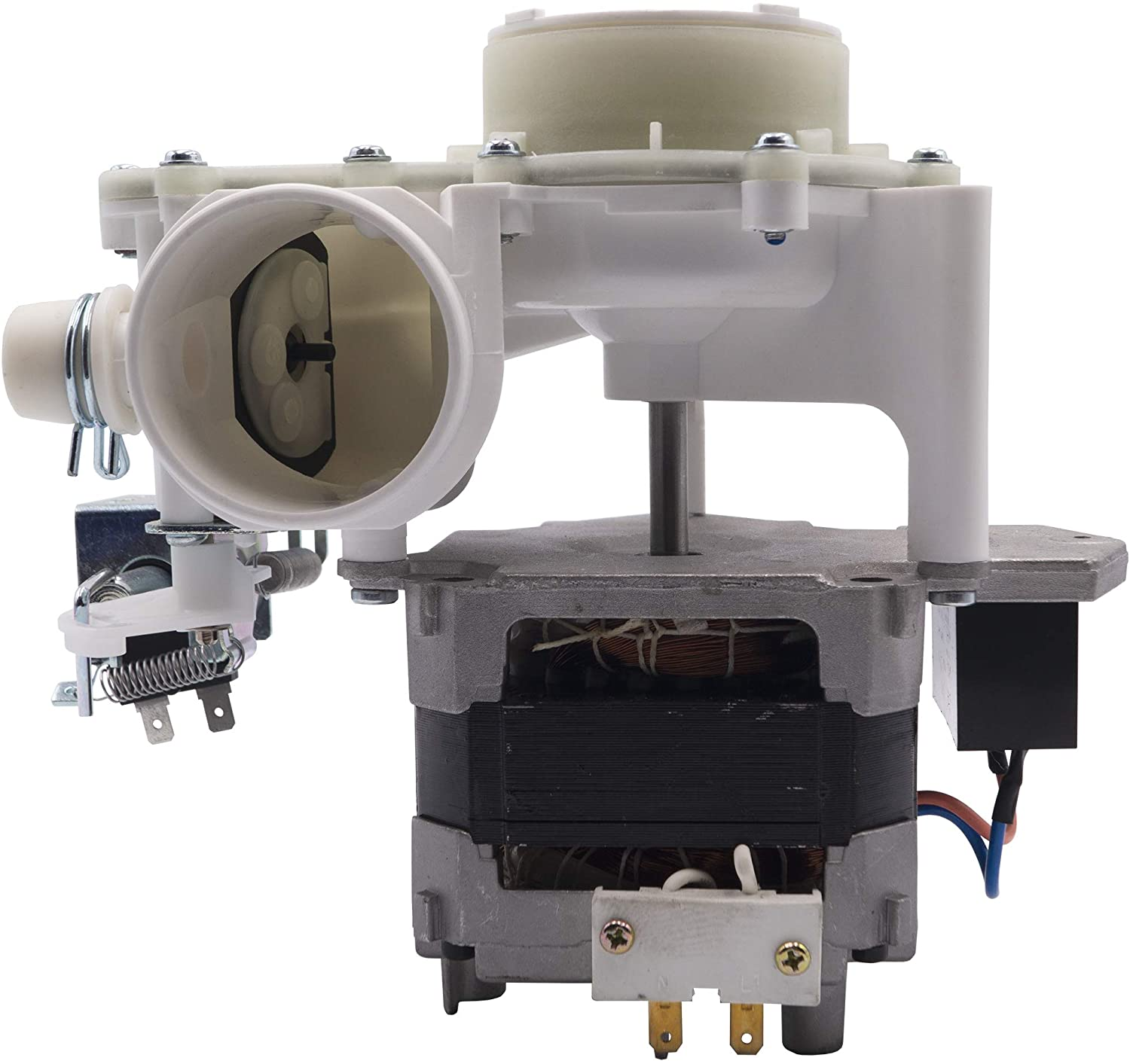 Supplying Demand WD26X10051 Dishwasher Pump and Motor Assembly With Pump And Capacitor Replaces 1811038, WD26X10035