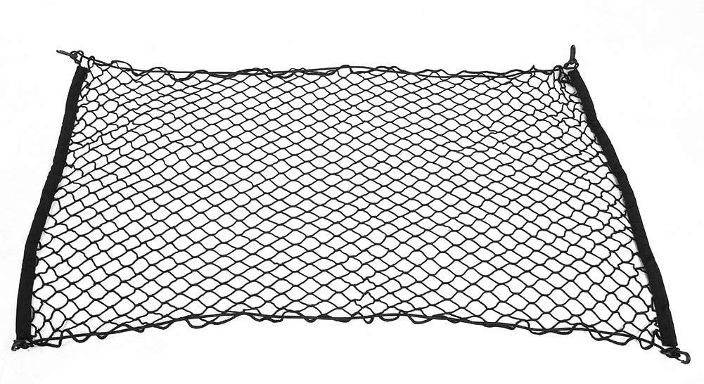 Elastic Net, 70120cm Car Rear Trunk Luggage Organizer Elastic Net Mesh Holder Universal, Black