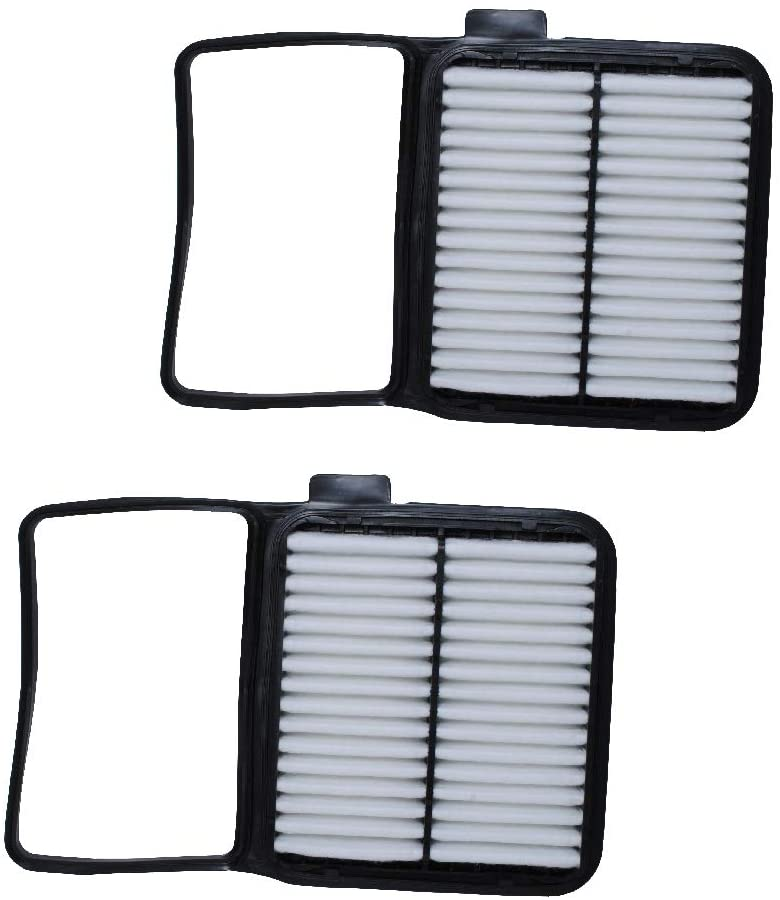 Podoy CA10159 Air Filter Compatible with Toyota Prius 2004-2009 1.5L Replace CP846 (CF9846A) 17801-21040 A25698(Pack of 2)