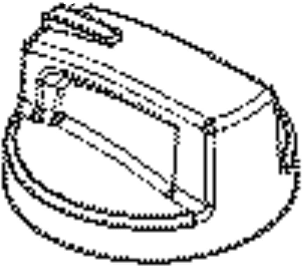 316353565 Cooktop Burner Knob Genuine Original Equipment Manufacturer (OEM) Part Black