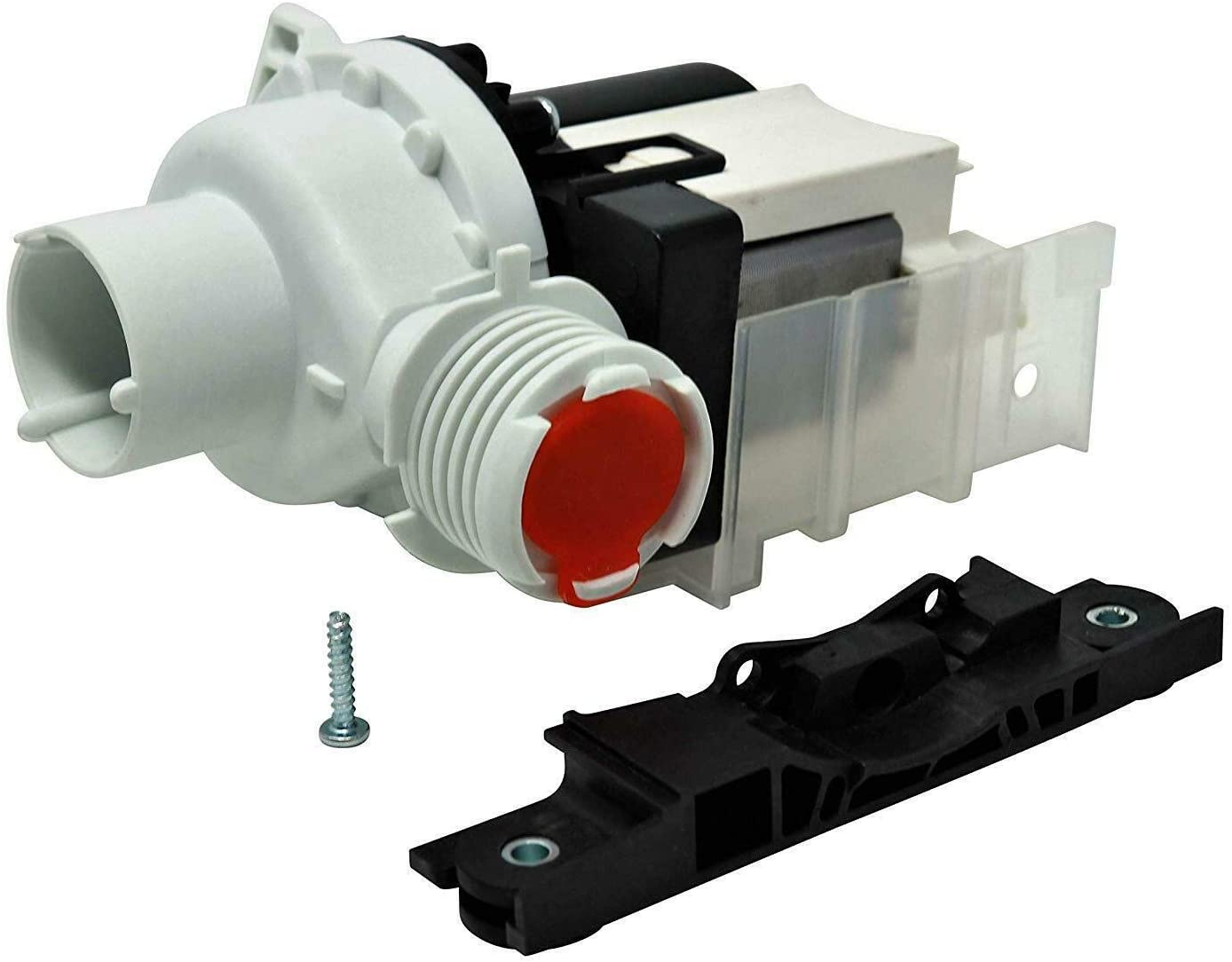 (H&H) New Machine Water Drain Pump for Exactly Compatibility Kenmore Kenmore Washer Washing AP5684706, 137108100, 137151800KITK, 137151800