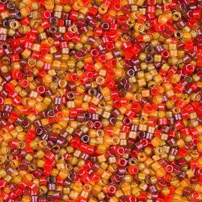 Miyuki Delica 11/0 Cylinder Seed Beads - Luminous Mix 3 - DB2063 5 grams
