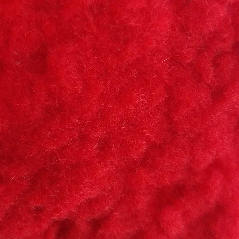 Donjer Suede-Tex Flocking Fiber, 3 oz bag, Bright Red (Nylon)