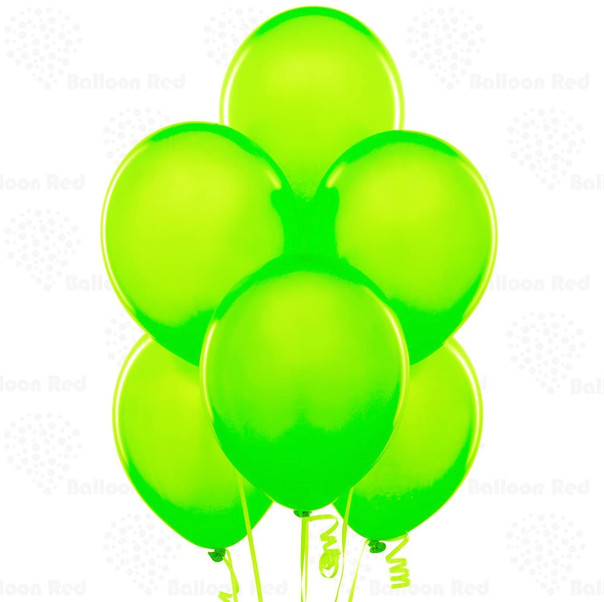 Lime 10 Inch Latex Balloons 100 Pack Thickened Extra Strong for Baby Shower Garland Wedding Photo Booth Birthday Party Supplies Arch Decoration Engagement Anniversary Christmas Festival
