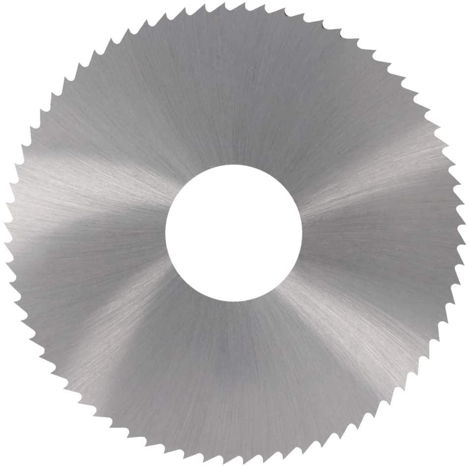 Utoolmart 75mmx22mmx0.9mm HSS Milling Cutter 72T Slitting Saw