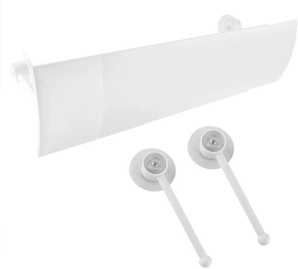 ASHATA Air Conditioner Wind Deflector, Anti Direct Blowing Adjustable Air Conditioner Shield Scalable Baffle Air Guide Cover for 1P, 1.5P, 2P, 3P Air Conditionals