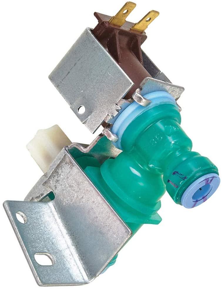 Compatible Water Inlet Valve for Maytag MFW2055YEM01 Whirlpool WRF560SEYW00 Whirlpool GSC25C4EYB01 Whirlpool GSS26C5XXA03 Whirlpool WRT771RWYB01 Refrigerator's