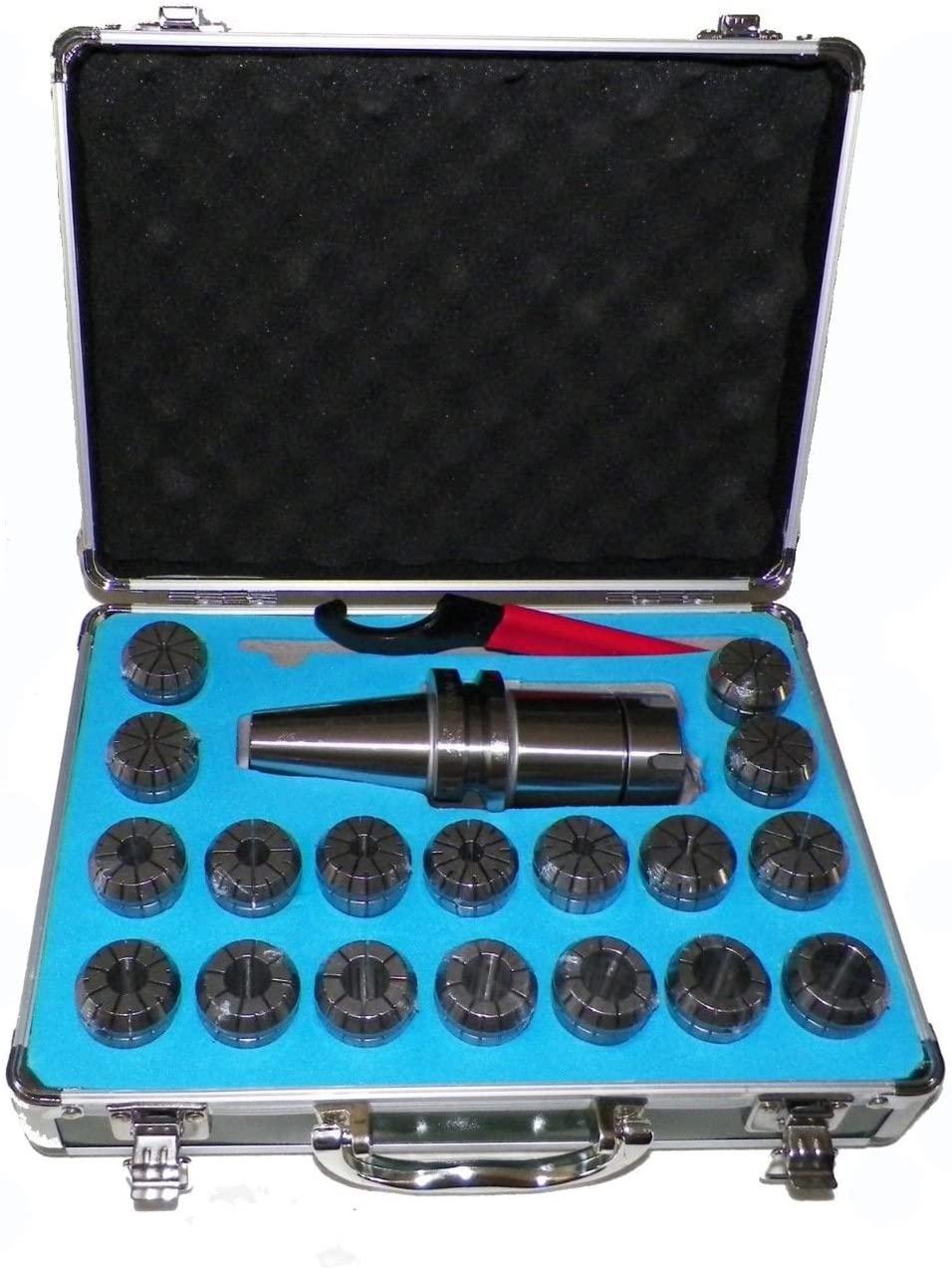 BT40 ER32 Milling Collet Chuck Set 18 Pcs Proj. 3.94