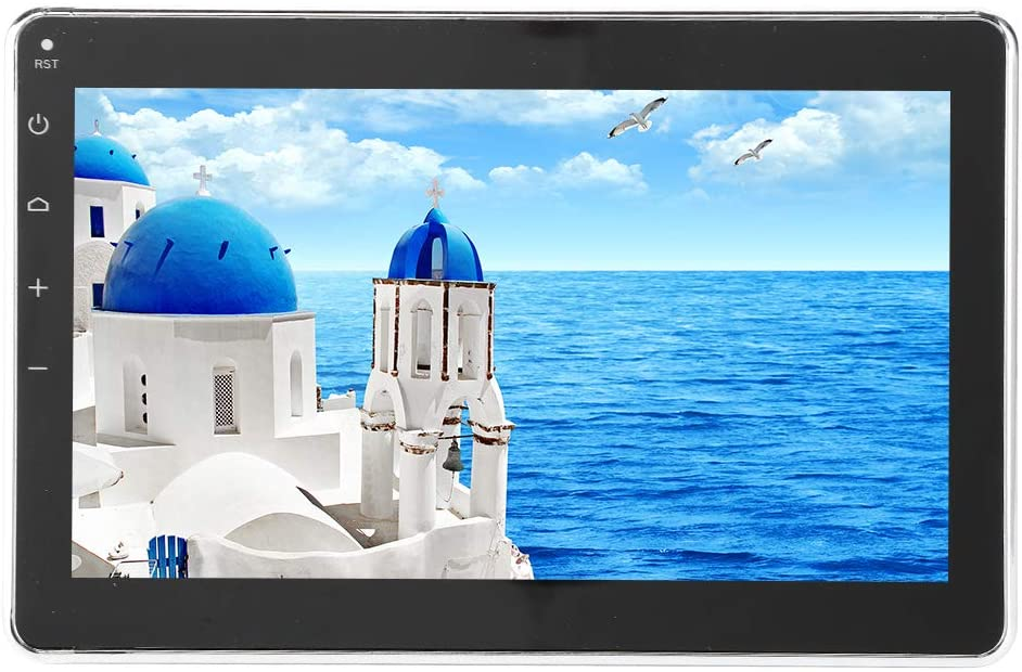 Car Waterproof MP5 Player,7in LCD MP5 USB Stereo Player with Bluetooth,for Boat Car Bathroom