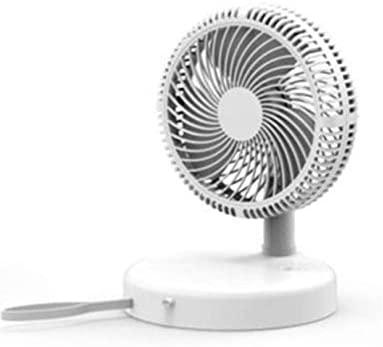 ZicHEXING 4-Speed Portable Mini Fan Handheld Fan Home Desk Speed Adjustable USB Rechargeable Fan Air Cooler Outdoor Travel
